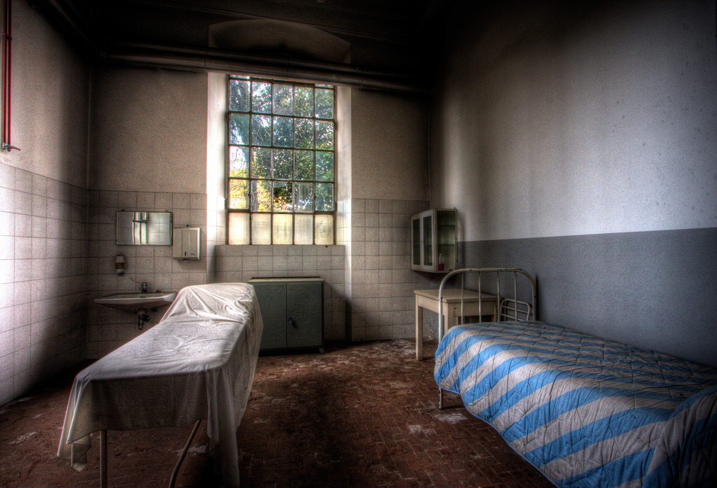 Room in an abandoned hospital, European Spotlight