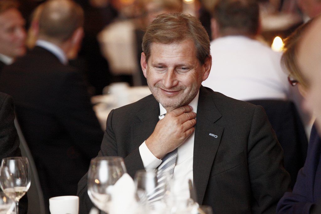 Commissioner Johannes Hahn at the Baltic Development Forum, SpotlightEurope