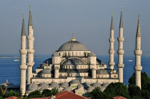 Blue Mosque in Istanbul, Spotlight Europe