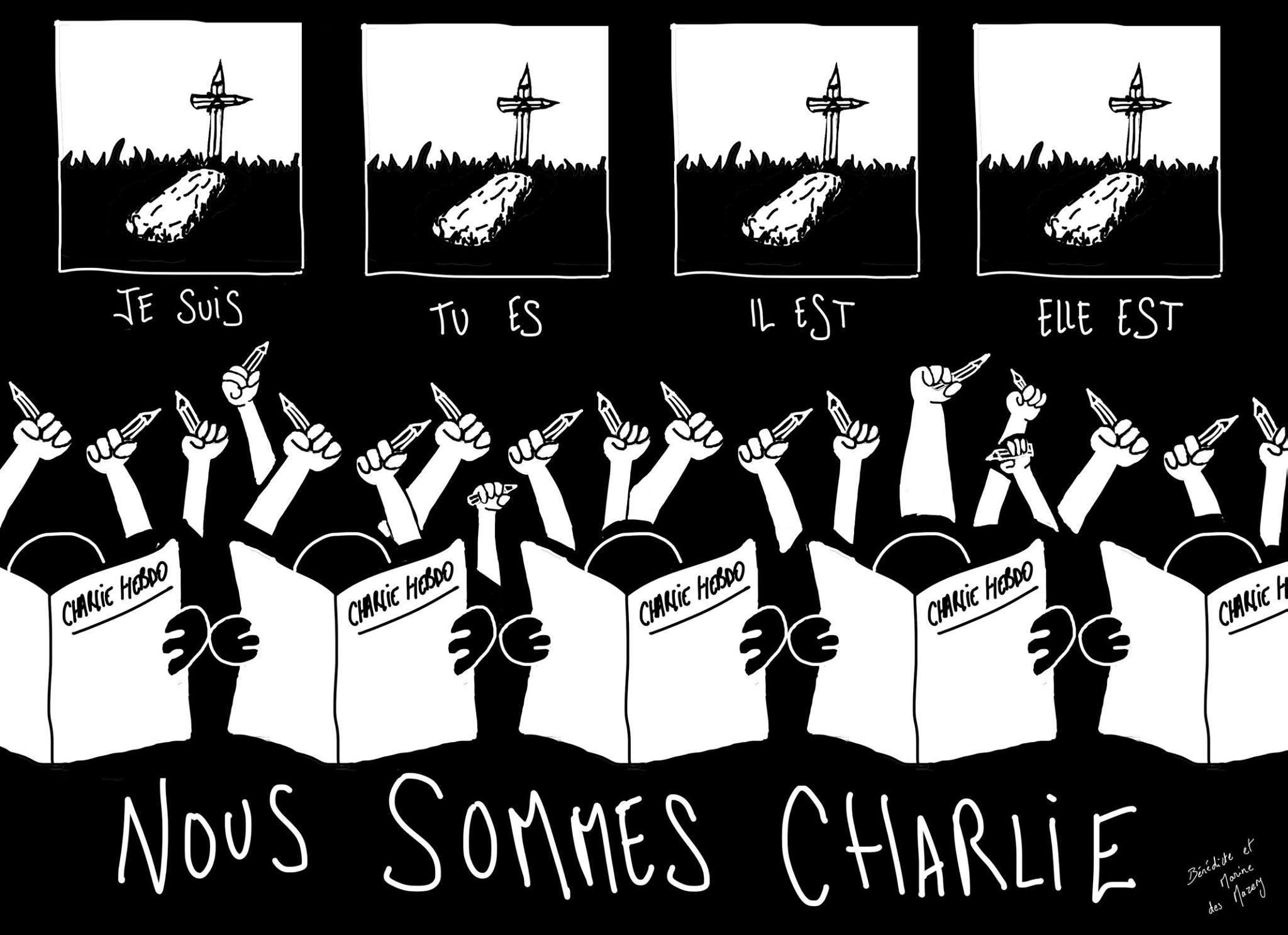Nous sommes Charlie, Spotlight Europe