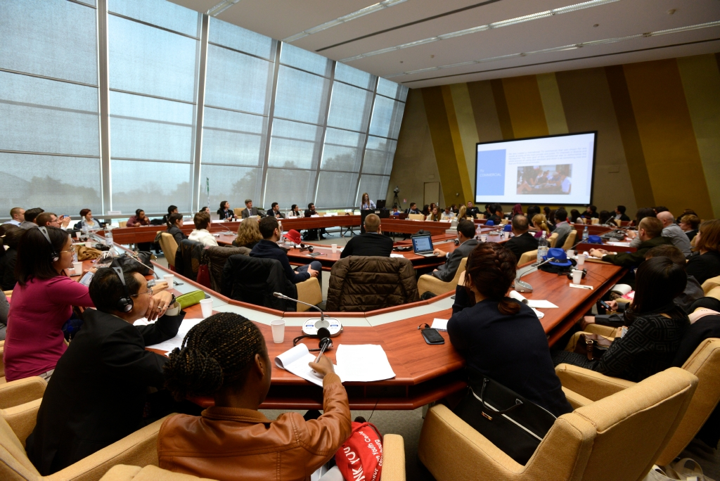 Session with young people in the Council of Europe, Strasbourg 2014, Spotlight Europe
