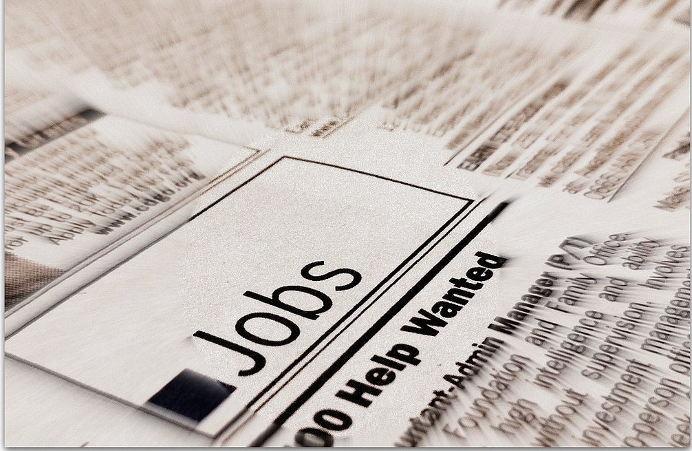 Job advertisements in a newspaper, Spotlight Europe