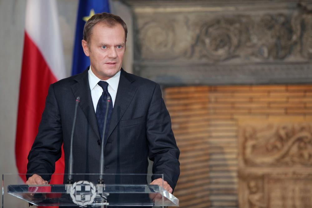 President of the European Council and Polish politician Donald Tusk